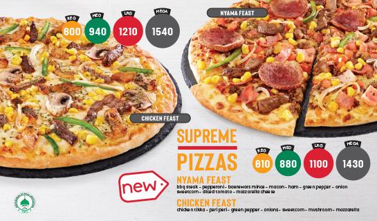 Supreme Pizzas